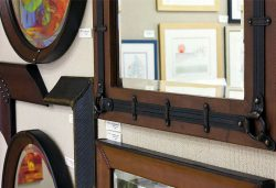 Leather Frames from Sanibel Art And Frame.