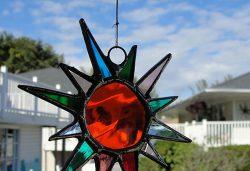 Suncatcher's Dream glass suncatcher, Sanibel Island in Florida